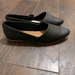 NWT Leather Flats